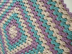 free beginer crochet blanket | The Welcome Martha Crocheted Baby Blanket | Did You Make That?