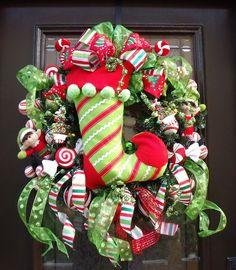 Wow!!!  Love this wreath!