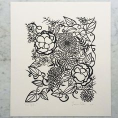 Lace Garden | Original Papercut