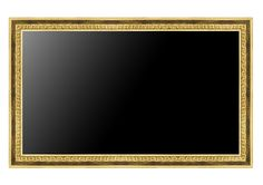 TV with wooden Frame