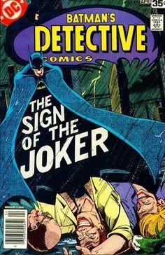 Detective Comics #476 - The Sign of the Joker!