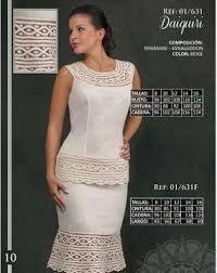 Image result for vestidos bordados de cartago