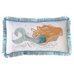 Pearl of the Sea Pillow - Seaside Splendor on Joss & Main