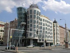 The Dancing House is the nickname given to an office building in downtown Prague, Czech Republic.