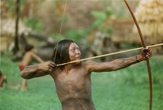 primitive archery