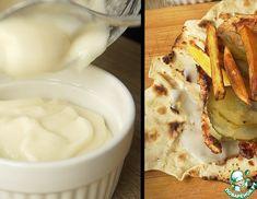 Рецепт: Ливанский чесночный соус Тум Dips, Cheese, Recipes, Food, Spreads, Dressings, Sauces, Meals, Dip