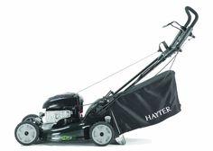 Hayter R53S 21-inch Recycling / Mulching Self Propelled Electric Start Petrol Lawnmower