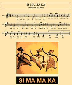 Conheci esta brincadeira do folclore africano, Ghana, e me apaixonei logo de cara. A letra é fácil e está associada aos movimentos corporais. Na prática já realizei com crianças típicas (a diversão…