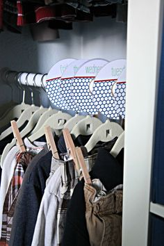 Get ready for back-to-school with these kids closet organizers. Great DIY tutorial.