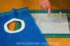 Nancy Zieman's/Donna Fenske/easy bibs from fingertip towels | Nancy Zieman Blog