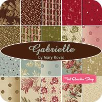 Gabrielle Charm Pack Mary Koval for Windham Fabrics - Fat Quarter Shop