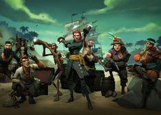 Experimentem a beta de Sea of Thieves este fim-de-semana!