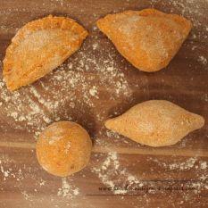 İçli Köfte Gefüllte Bulgur-Grießklöße - verschiedene Formen