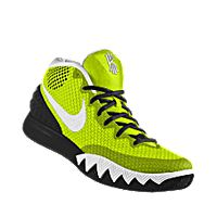 I designed the gold Iowa Hawkeyes Nike men's basketball shoe with black and white trim.