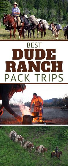 The latest on Dude Ranch Vacations Weekend Camping Trip, Camping Set Up, Tent Camping, Adventure Bucket List, Adventure Travel, Dude Ranch Vacations, Hobo Dinners, All Inclusive Trips, Horse Riding Tips