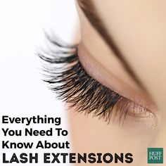 f0e891cfe89 Here's what you should know about lash extensions Half Set Eyelash  Extensions, Mink Lash Extensions