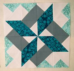 Starry Skyline Block This Starry Skyline Quilt Block designed by fromblankpages and the tutorial is available for free. Full Post: Starry Skyline Block Tutorial