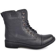 Spend-less Shoes - Combat Black, $39.95 (http://www.spendless.com.au/combat-black/)