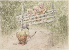 """Густав Роберт Хёгфельдт - Gustav Robert Högfeldt - известный иллюстратор множества детских книг, среди которых """"Книга магов"""", """"Сказки Марии Олафссон"""", """"Сказки из Ниццы"""". Про этого замечательного художника довольно мало информации, что я считаю незаслуженным, особенно с учетом того, что его…"""