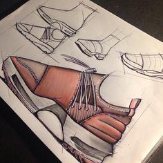 Filling Pieces Runner x Y3 Torai Platform Concept made by myself -#design #footweardesign #sneakers #sneakerdesign #draw #art #drawing #sketch #sketching #rendering #rough #copic #promarker #fillingpieces #runner #adidas #y3 #yohjiyamamoto #torai #imathechi