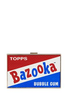 Bazooka Imperial Clutch by Anya Hindmarch for Preorder on Moda Operandi