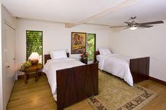 Anini Beach House, North Shore, Kauai. Downstairs guest room.