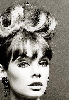 Jean Shrimpton, photo by John French, 1960s