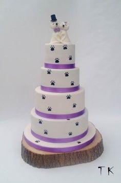 netradičná svadobná s mačkami :)