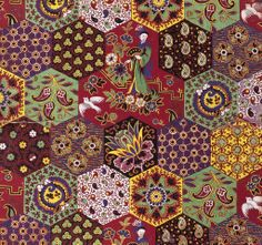 Textile design painted on paper intended for roller printed cotton, Scottish, Dunbartonshire, John Orr Ewing & Co., 1886