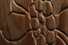 Decoration of a bar counter coating.