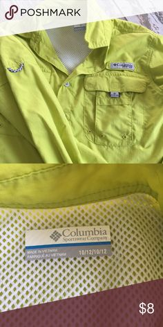 Long sleeve Colombia shirt Long sleeve worn once! colombia Shirts & Tops Button Down Shirts