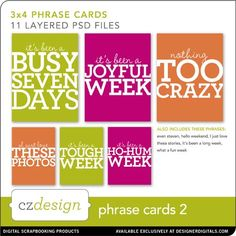 Phrase Cards No. 02