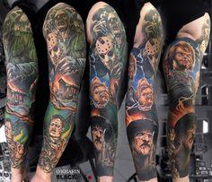 Artist: Sasha O`Kharin, BLACKOUT Tattoo Collective #blackouttattoocollective #blackouttattoo #tattoo #tattoos #tattooartist #tattooart #tattooist #art #artwork #ink #addictedtoink #inked #artoftheday #toptattooartist #tattooistartmag #inkddict #tattoospb #realistic #realistictattoo