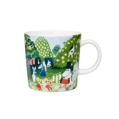 Cups & mugs - Dishware - Tableware - Finnish Design Shop Moomin Mugs, Tove Jansson, Ark, Art Museum, Coffee Shop, Art Pieces, Ceramics, Tableware, Artwork