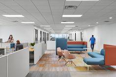 Interior Architecture, Interior Design, Health Programs, Office Set, Common Area, Design Firms, Concrete Path, Dallas Texas, Workspaces