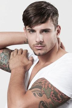 Perfect sleeve length #hair #trends #cabello_hombre