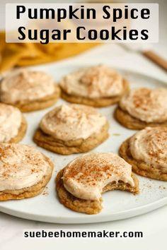Butter Pecan Cookies, Cake Mix Cookies, Sugar Cookies, Gf Cookie Recipe, Cookie Recipes, Dessert Recipes, Fun Easy Recipes, Fall Recipes, Holiday Recipes