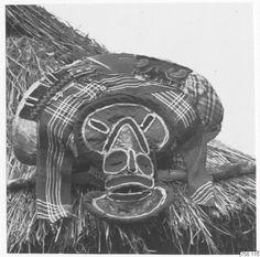chokwe mask, angola 1949