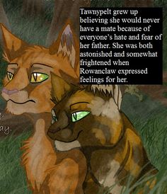 Warrior Cats Headcannon - Tawnypelt (I'm just randomly pinning this)