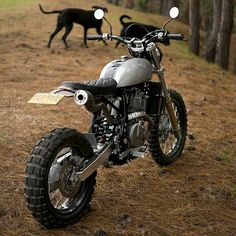 Badass+made+simple:+'Mamba'+Suzuki+DR650++by+Pasquale+Motors