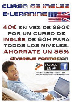 Curso de ingles E-Learning Lowcost  anúnciate gratis #clases y #cursos en tu ciudad #Barcelona #España
