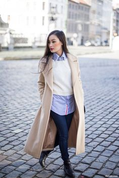 10 Long Coat Outfits And Looks For Women This Winter fashion style outfits fashion and style fashion outfits winter fashion and style winter fashion outfits 2016 fashion and style 2016 style winter 2016 fashion for women winter 2016 fashion long coats