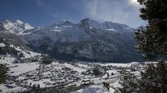 I visted Kandersteg in Switzerland a very long time ago. It is the most magical, fairytale place in winter.