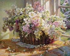 Painting by Helene Beland