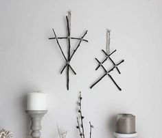 Call of the Witch & Othala . set de décorations de branches