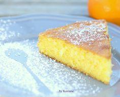 Gâteau à l'orange...un peu de soleil, ça fait du bien !