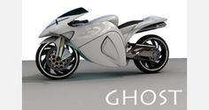 Concept Motorcycle: The Ghost Motorcycle concept puts the rider in an aggressive forward position that feels incredibly fast. The design draws its inspiration from the speed demon Ghost Rider as well as a flying falcon.