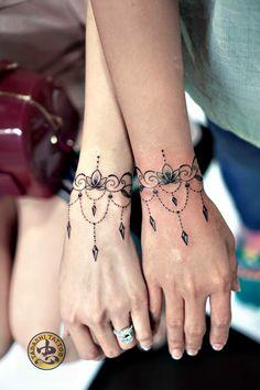 Mandala tattoo by Tadashi