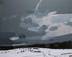 Landscape Paintings...Harry Stooshinoff: Pasture, January 26