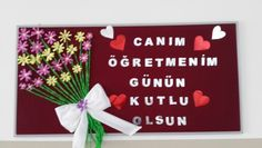 Discover recipes, home ideas, style inspiration and other ideas to try. 4th Grade Classroom, Teachers' Day, Letter Board, Paper Art, Graduation, Projects To Try, School, Ideas, Mother's Day